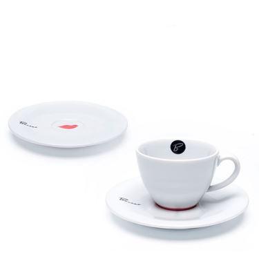 "Tasse Kaffee 16 cl ""Bacino"" mit Untertasse"