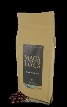 Maca-Loca Caffè Espresso Bio Fairtrade