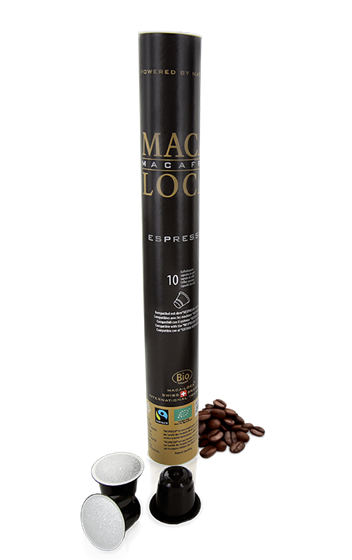 Maca-Loca Caffè Espresso Bio Fairtrade Kapseln