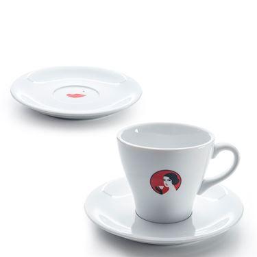 """Tasse Cappuccino 28cl """"Oetterli"""" mit Untertasse"""