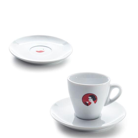 """Tasse Crème 17cl """"Oetterli"""" mit Untertasse"""