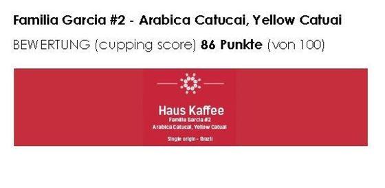 """Bild von Haus Kaffee, Familia Garcia #2,  (Single origin) """"geröstet vom CH-Röstmeister 2018"""""""